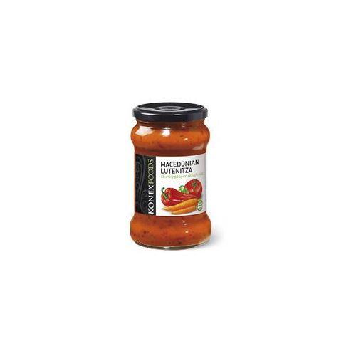 Konexfoods Macedońska lutenica - pasta warzywna z kawałkami papryki , łagodna 290g. - konex foods