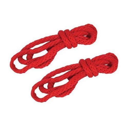 S&M Silky Robe Kit – Jedwabne sznury do wiązania czerwone