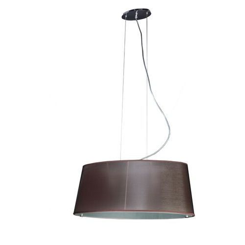 Lampa wisząca elipse duża beżowa, md1335l/161 be marki Sinus