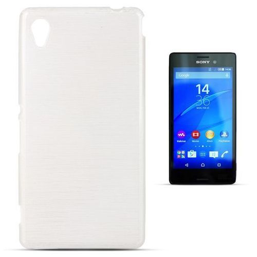 """Forcell """"jelly brush sony xperia m4 aqua"""" (white)"""