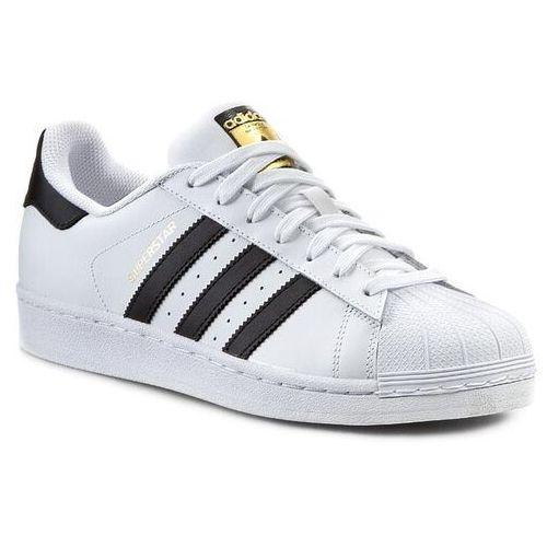 Buty adidas - Superstar C77124 Ftwwht/Cblack/Ftwwht, kolor biały