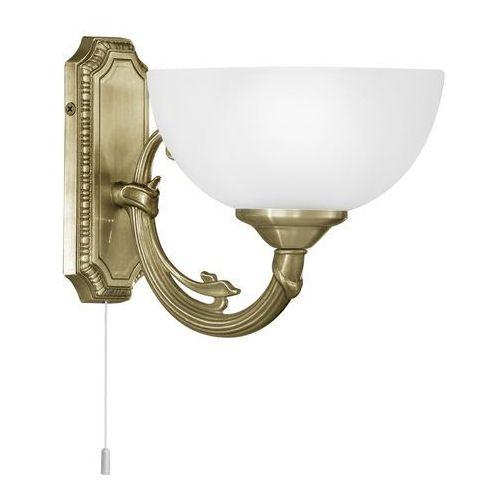 Eglo Kinkiet savoy 82751 lampa ścienna 1x40w e14 patyna (9002759827519)