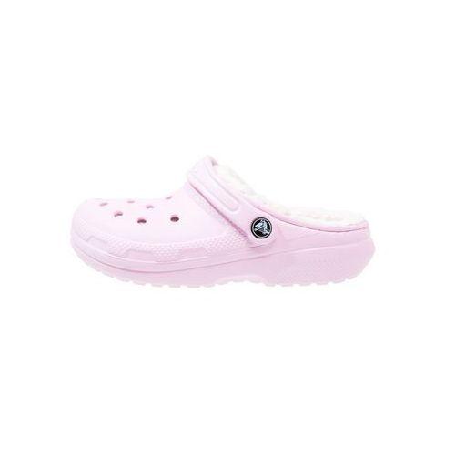 Crocs CLASSIC Kapcie pink/oatmeal