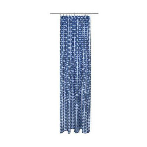 Action Zasłona cleo ciemnoniebieska 140 x 250 cm na taśmie