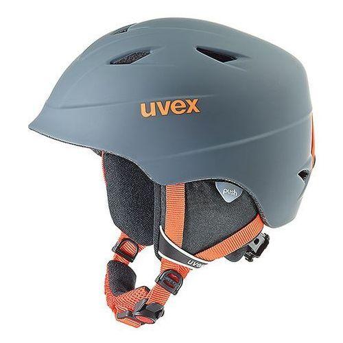 Dziecięcy kask narciarski airwing 2 pro szary s (52-54cm) marki Uvex
