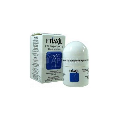 OKAZJA - Riemann and co Etiaxil roll-on pod pachy, antyperspirant, skóra wrażliwa, 12,5 ml