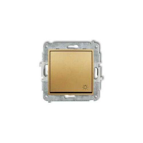 Przycisk światło Karlik Mini 29MWP-5 złoty