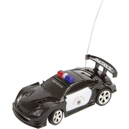 Model samochodu RC Invento Policja czarna/biała, 1:58, Elektryczny, RtR, kup u jednego z partnerów