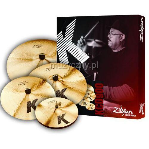 Zildjian KCD900 K Custom Dark Box Set zestaw talerzy perkusyjnych