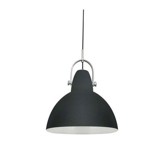 cande lampa wisząca 1* e27 max 60w black metal shade ts-110611p-bk marki Zumaline
