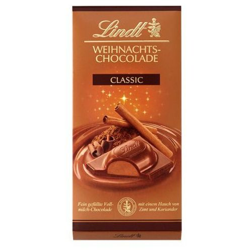 Lindt Świąteczna czekolada weihnachts-chocolade classic 100g