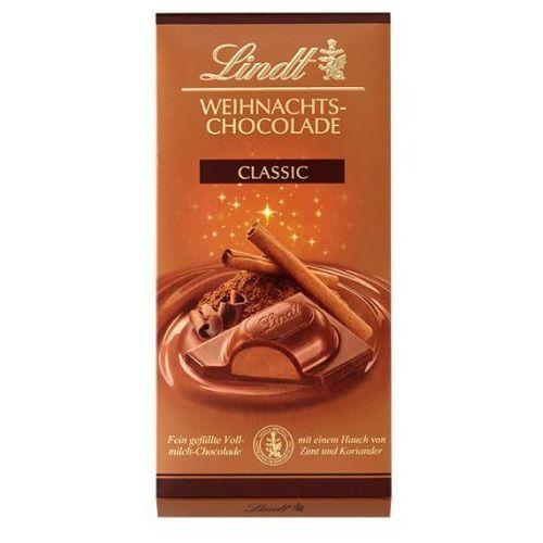 Świąteczna czekolada Lindt Weihnachts-Chocolade Classic 100g, 9B08-653C0