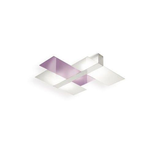Kinkiet triad 880 liliowy żarówki led gratis!, 90225 marki Linea light