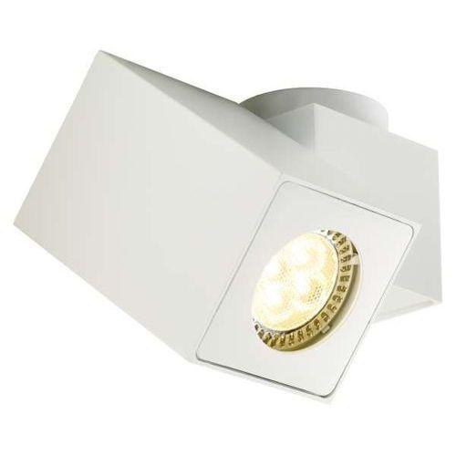 Spot LAMPA sufitowa SQUAR I 70036101 Kaspa metalowa OPRAWA natynkowa minimalistyczna regulowana biała (5902047300110)