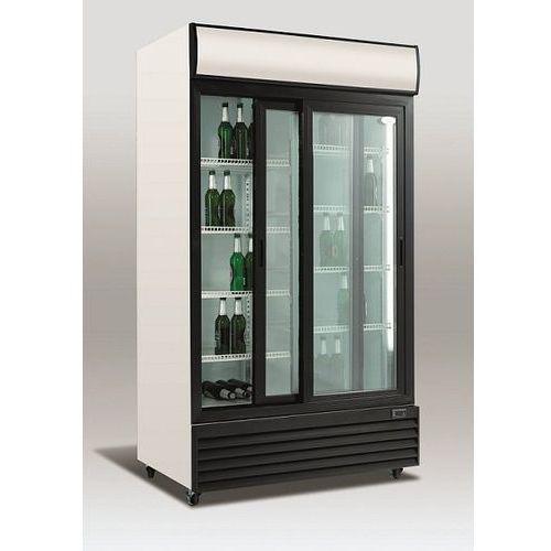 Szafa chłodnicza przeszklona   1000l   1130x700x(h)2020mm marki Resto quality