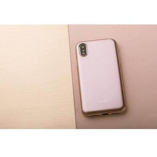 iglaze - etui iphone x (pink) marki Moshi