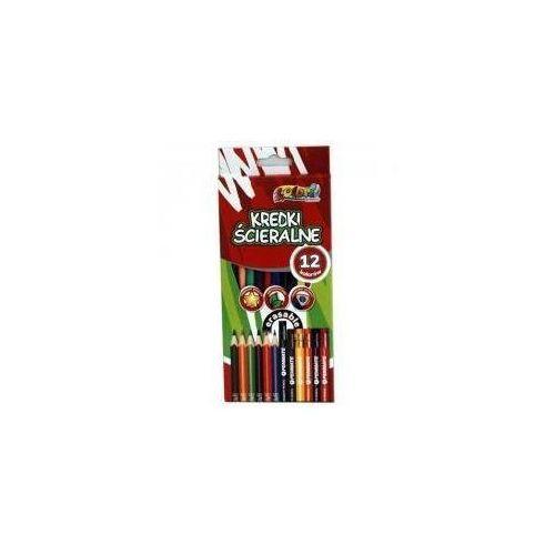 Kredki Premium Kolori ścieralne 12 kolorów PENMATE (5906910819990)