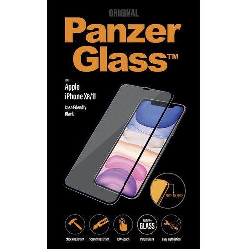 PanzerGlass szkło ochronne Edge-to-Edge dla Apple iPhone Xr/11 czarne (2665) (5711724026652)