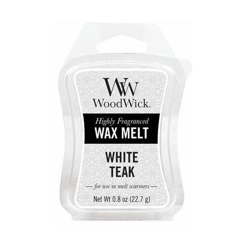 - wosk zapachowy white teak 10h marki Woodwick