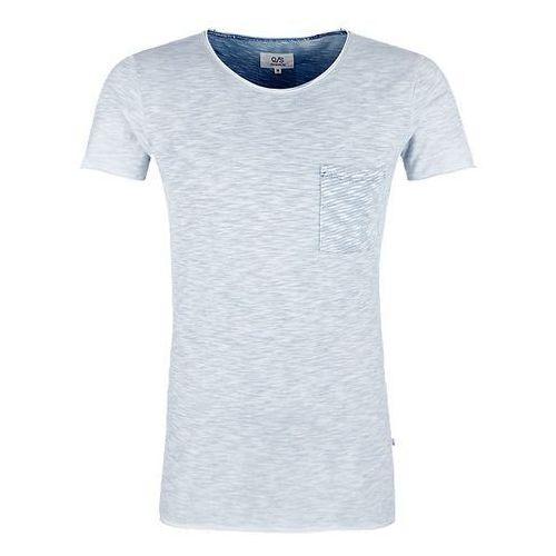 t-shirt męski l jasnoniebieski marki Q/s designed by