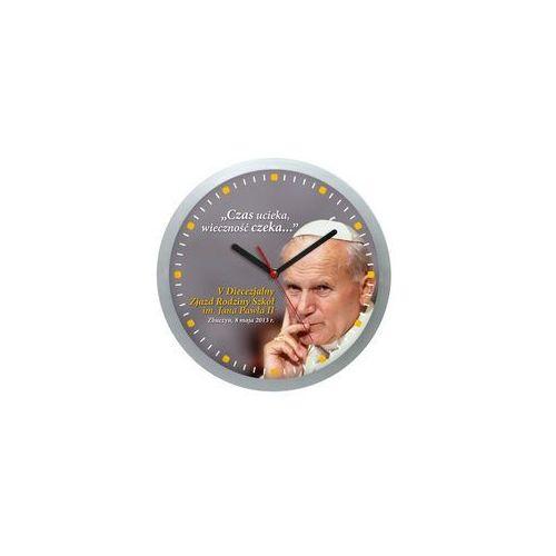 Atrix Zegar ścienny logo plastik solid