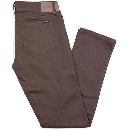 spodnie BRIXTON - Reserve 5-Pkt Pant Brown (BROWN) rozmiar: 31
