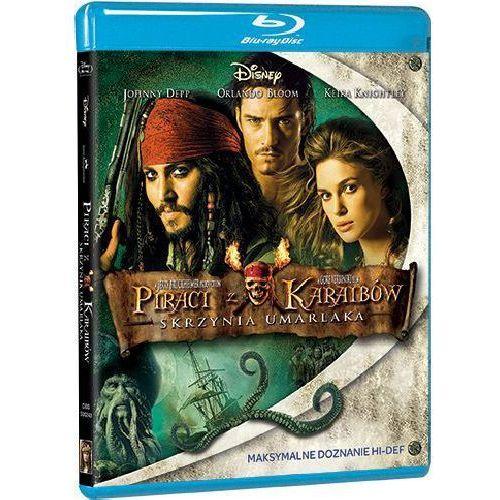 Piraci z Karaibów. Skrzynia umarlaka [Blu-ray] (7321917502436)