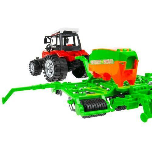Kindersafe Zestaw 2 traktorów + maszyny rolnicze mały farmer