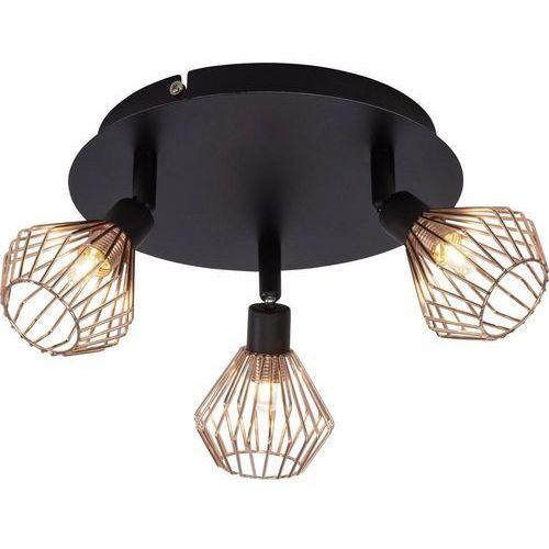 Brilliant Lampa punktowa 21034/76 g9, (Øxw) 22 cmx16 cm, czarny, miedź