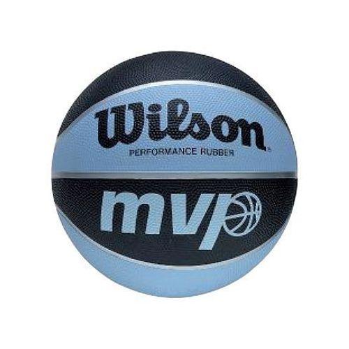 Piłka koszowa Wilson MVP 7 5358 niebiesko - czarna