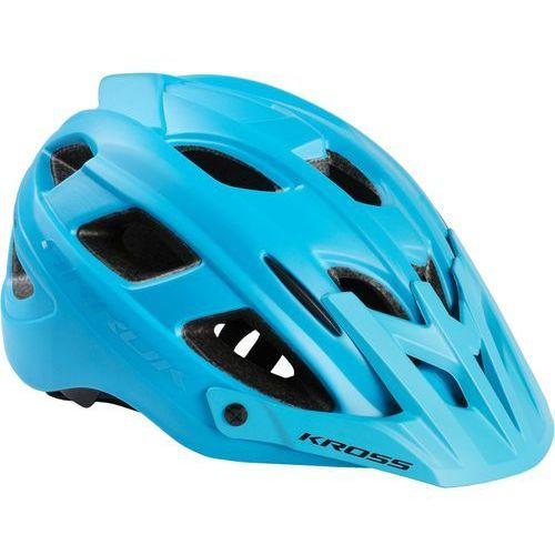 Kask rowerowy arrok l 58-61cm niebieski marki Kross