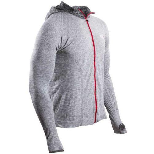 Compressport 3d thermo seamless koszulka do biegania z długim rękawem szary l 2017 koszulki do biegania