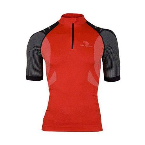 Brubeck ss10410 - koszulka rowerowa unisex (czerwony)