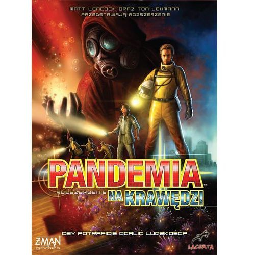 Pandemia - na krawędzi marki Lacerta