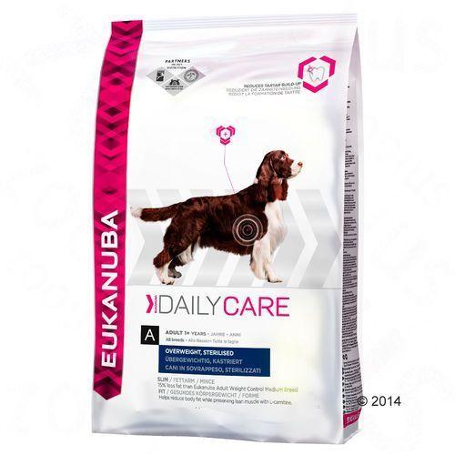 Eukanuba daily care overweight, sterilised 2x12,5kg (8710255120126)