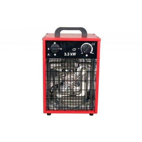 Nagrzewnica elektryczna inelco neutral 3,3kw - ip 44 produkt bez logo - wersja w czerwonej obudowie marki Inelco nowość 2021