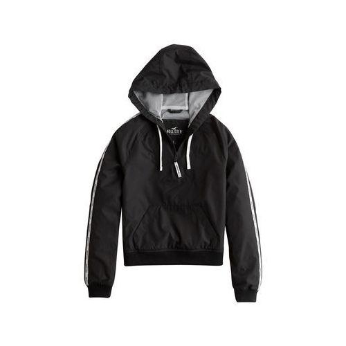 kurtka przejściowa czarny marki Hollister