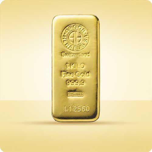 1000 g (1 kg) Sztabka złota - 15 dni roboczych