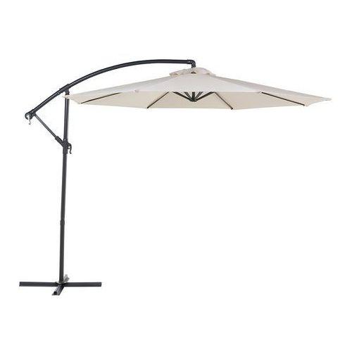 Parasol ogrodowy Ø300 cm jasnobeżowy ravenna marki Beliani