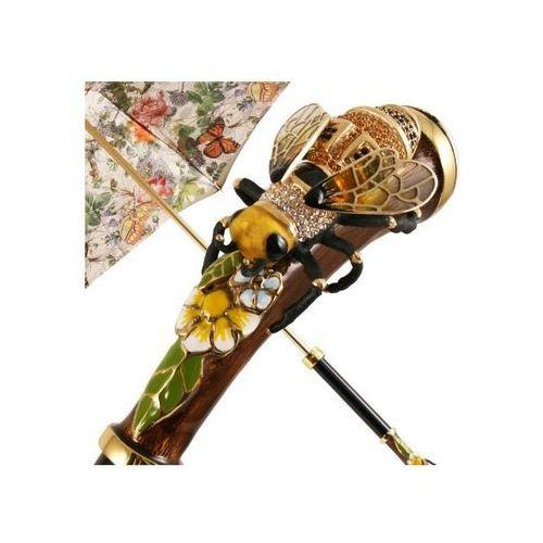 parasol damski luxury swarovski bee, 189 5d557-1 k15 marki Pasotti