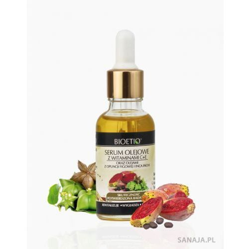 Serum olejowe z witaminami C+E oraz olejami z Opuncji figowej i Inca Inchi 30 ml (5903111792022)