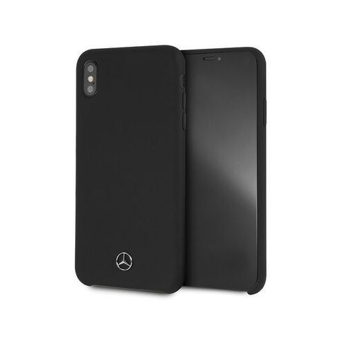 Mercedes MEHCI65SILBK iPhone Xs Max hard case czarny/black Silicon, kolor czarny