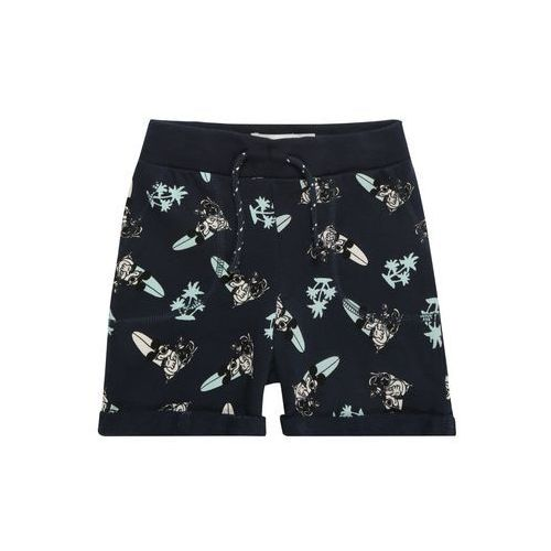 Name it spodnie 'nmmmickey thorn unb swe shorts wdi' ciemny niebieski (5713757523658)
