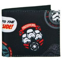 Undercover  portfel - star wars patch (4043946257028)