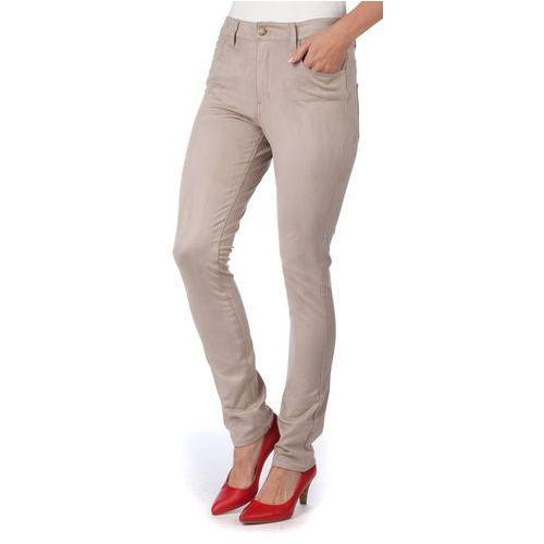 spodnie damskie mith s beżowy marki Brave soul