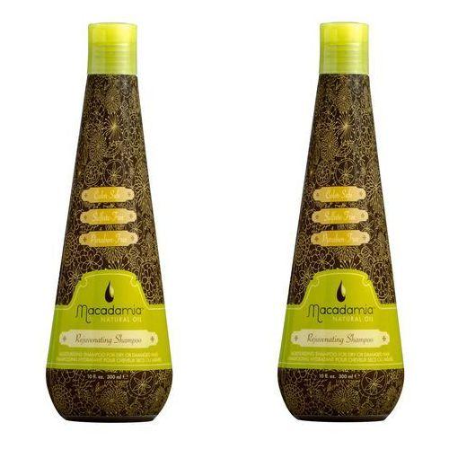 Macadamia Zestaw Rejuvenating Shampoo - Szampon odmładzający do włosów 300ml x2