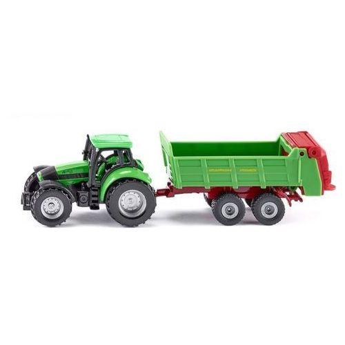 Siku 16 - Traktor z przyczepą