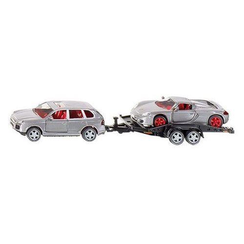 Siku super samochód osobowy z przyczepą, towar z kategorii: Pozostałe zabawki