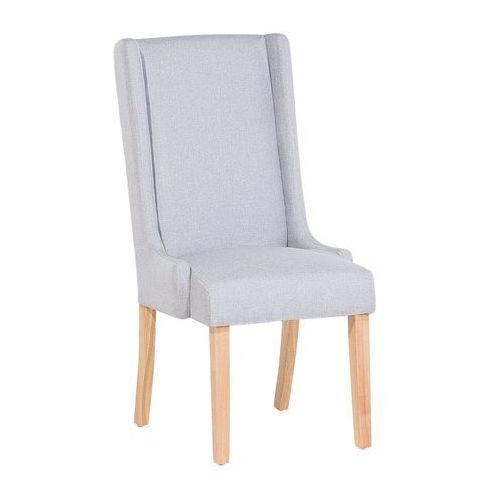 Beliani Krzesło do jadalni jasnoszare chambers (7081458773077)