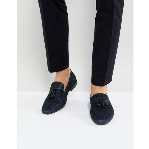 Kg by kurt geiger party slipper loafers navy - blue, Kg kurt geiger